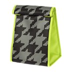 Houndstooth Lunchsack