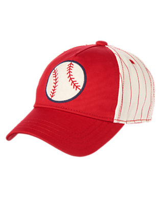 Toddler Boys Red Baseball Hat by Gymboree