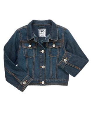 Girls Denim Denim Jacket by Gymboree