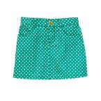 Polka Dot Twill Skirt