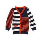 Mixed Stripe Cardigan