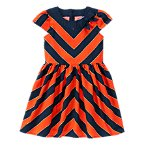 Chevron Bow Dress