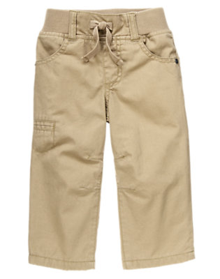 Toddler Boys  Ribbed Waist Cargo Pants by Gymboree