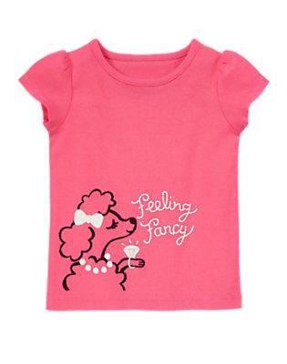 Girls Pink Poodle Feeling Fancy Tee by Gymboree