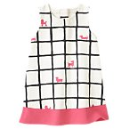Puppy Grid Dress