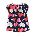 Heart Print Top