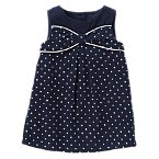 Polka Dot Smock Top