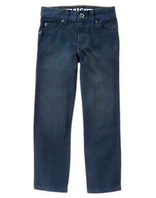Boys DENIM Straight Jeans by Gymboree