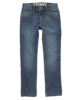 Boys Denim Skinny Jeans by Gymboree