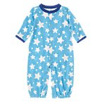Dotted Star Convertible Onesie