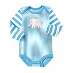 Striped Elephant Bodysuit