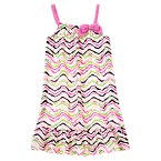 Zebra Print Pajama Gown