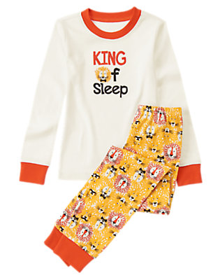 Toddler Boys Golden Mane King of Sleep Two-Piece Gymmies® by Gymboree