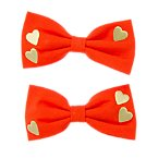 Heart Bows Two-Pack