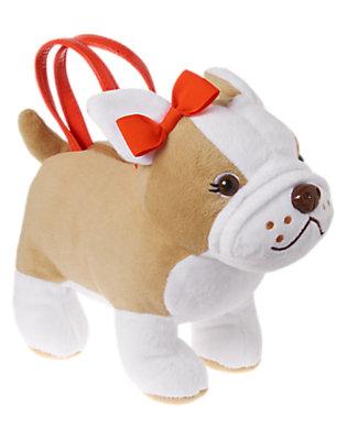 Girls Fawn French Bulldog Plush Purse by Gymboree