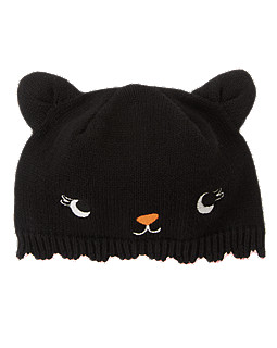 Black Cat Beanie
