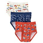 Cars and Trucks Briefs Three-Pack
