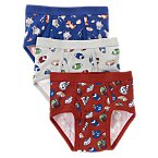 Football Briefs Three-Pack