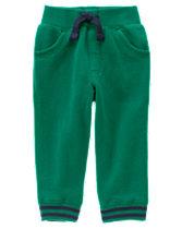 Striped Cuff Sweatpants