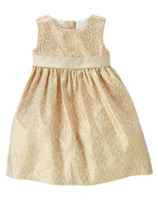 Textured Shimmer Dress