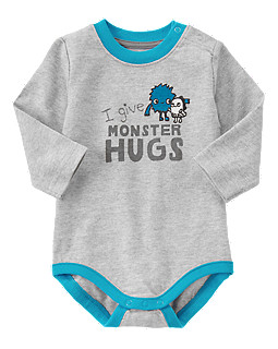 Monster Hugs Bodysuit