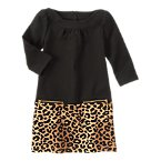 Zipper Leopard Dress