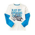 Blast Off! Long Sleeve Tee