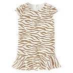 Velveteen Tiger Stripe Dress