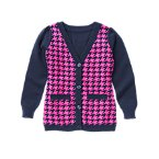 Houndstooth Cardigan