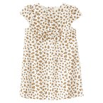 Velveteen Animal Print Dress