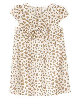 Velveteen Animal Print Dress