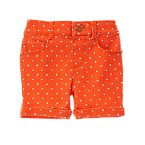 Polka Dot Bermuda Shorts