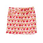 Scribble Heart Skirt