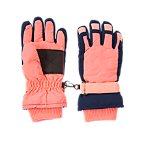 Colorblock Snow Gloves
