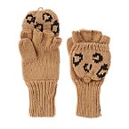 Convertible Leopard Gloves
