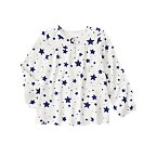 Starry Smock Top