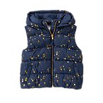 Hooded Star Puffer Vest