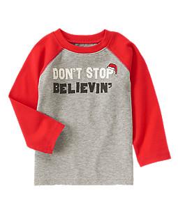 Don't Stop Believin' Raglan Tee