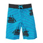 Pirate Ship Swim Shorts
