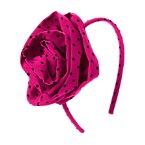 Polka Dot Rosette Headband