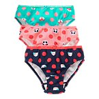 Animal Dot Panties Three-Pack