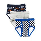 Racer Briefs Three-Pack