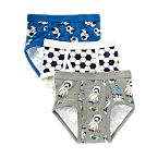 Space Soccer Briefs Three-Pack
