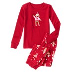 Girl Sock Monkey Two-Piece Gymmies®