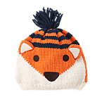 Fox Pom-Pom Sweater Hat