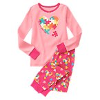 Puzzle Piece Heart Two-Piece Gymmies®