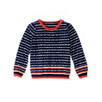 Geo Stripe Sweater