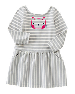 Kitty Striped Dress
