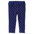 Polka Dot Fleece Pants