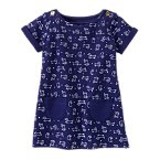 Puppy Print Shift Dress
